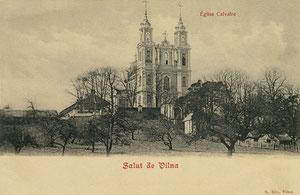Vilnius. Šv. Kryžiaus bažnyčia Jeruzalėje / Church of the St. Cross in Jeruzalė