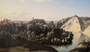 Juozapas Marševskis. Vilnius Bernardinų sodas. 1868. Drobė, aliejus / Vilnius Bernardinai garden. 1868. Oil, cloth.