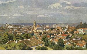 Atvirlaiškis. Vilnius / Wilna. Gerd Paul druck und verlag: Zeitung der 10. Armee