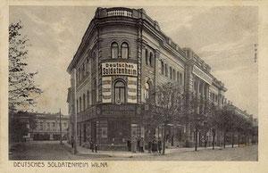 Vilnius / Feldpostkarte. Wilna.