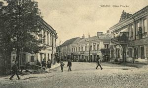 Vilnius. Trakų gatvė / Trakų street