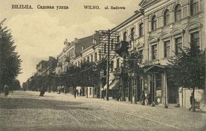 Vilnius. Sodo gatvė / Sodo street