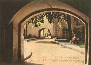 Vilnius. Vienas iš universiteto kiemų. Nuotr. P. Karpavičiaus / Vilnius: a University quadrangle. Photo P. Karpavičius