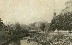Vilnius. Vilnelė. V. Borkovskio leid. / River Vilnelė (publisher V.Borkovskis)