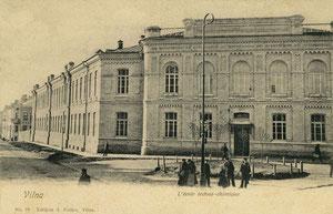 Vilniaus universiteto chemijos fakultetas. Leid. A. Fialko / Vilnius University chemistry faculty. Publisher A. Fialko