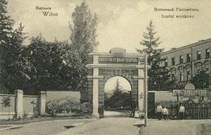 Vilniaus karo ligoninė / War hospital