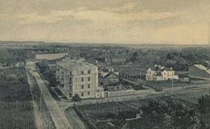 Vilnius. Reginys į Panerius. Leid. P. Rusecko. 1924m./ Vilnius. View to Paneriai. Publisher P. Rusecko. 1924