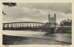Vilnius. Žaliasis tiltas / Green bridge