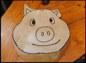 Dessous de plat - série des Cochons