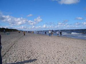 An der Ostsee in Krynica Morska
