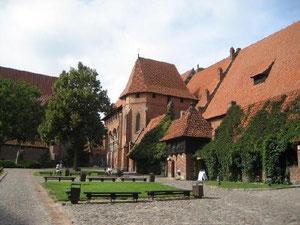 Die Marienburg in Malbork, lange Zeit Sitz des Deutschen Ordens