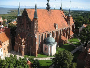 Der Dom von Frombork, die Wirkungsstätte von Nikolaus Kopernikus