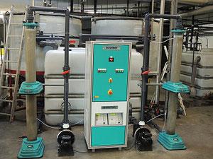 Ozon Waschwasseraufbereitung für Kfz Waschanlagen