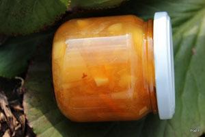 Taunusapfel Bitterorange Ingwer Marmelade
