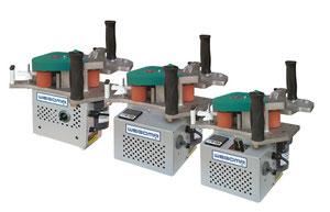 Wegoma Kantenanleim-Maschinen