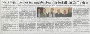 Braunschweiger Zeitung 30.1.2013