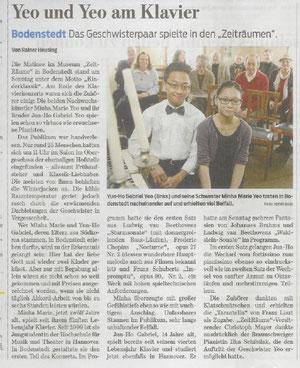 Braunschweiger Zeitung berichtet