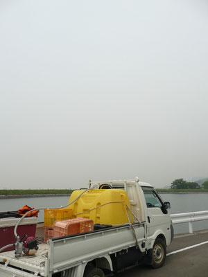 給水場の雲行き