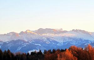 17. Dezember 2013 -  Wo Berge sich erheben