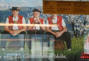 16. August 2012 - Aussicht im Zug - was ist Schein, was Realität?