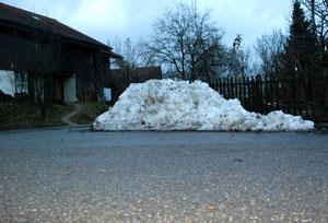 29. Dezember 2012 - Schnee von gestern