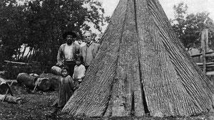 Karl May 1908 bei den Tuscarora-Indianern (Karl May Gesellschaft)
