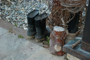 02. März 2012 - Stiefel für den Garten