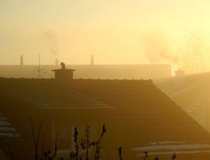 13. Dezember 2013 - Tag für Tag das gleiche Bild. Wer wird siegen? Sonne oder Nebel?
