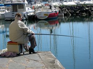 """13. April 2013 - """"Komm geh' mit angeln, sagte der Fischer zum Wurm"""" (Bert Brecht)"""