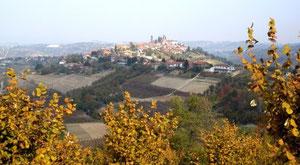 Piemont, wie wir es kennen – dort, wo der Nebbiolo zu Hause ist (Foto: P. Züllig)