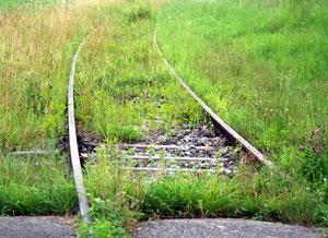 03. August 2012 - Wo keine Züge mehr fahren
