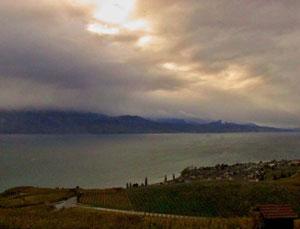 04. November 2013 - Wolken über dem Genfersee