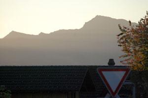 06. Oktober 2012 - Vorsicht Föhn