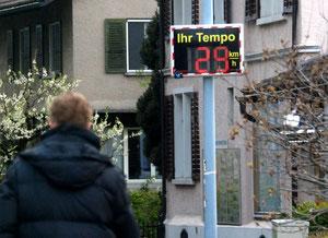 23. April 2012 - Tempolimit