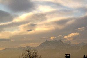 09. März 2013 - Wolken gegen Sonne