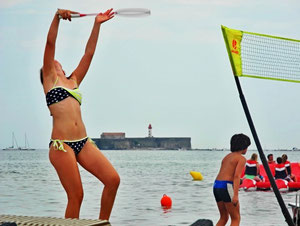15. Juli 2013 - Strandgymnastik