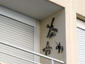 12. November 2013 - Don Quijote zieht ein oder der Bildungseifer auf dem Balkon