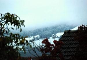 11. Oktober 2013 - Der erste Schnee