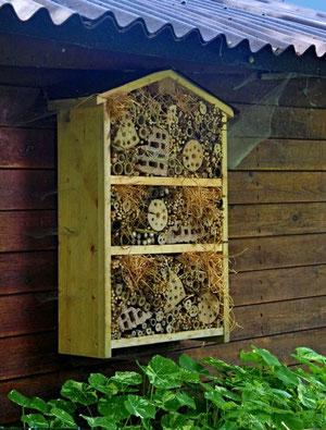 06. Junu 2013 - Schlechter Saisonstart - auch im Bienenhotel