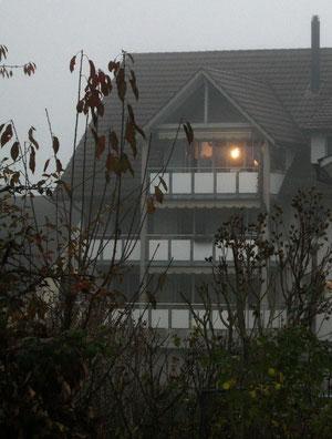 17. November 2012 - Morgennebel