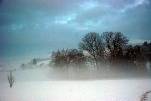 01. Dezember 2012 - Wo der Himmel den Boden berührt