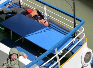 14. Mai 2012 - Vergnügen auf dem Schiff