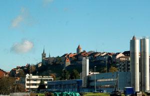 19. November 2012 - Romont, ein Stück Bilderbuchschweiz