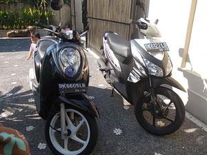 レンタルバイクの一例