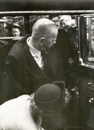 Kurt Schumacher, erster Parteivorsitzender nach 1945