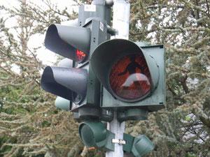 ドイツの信号。やはり足が長い気がします。
