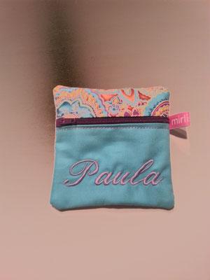 Zipptascherl mit individuellem Stick