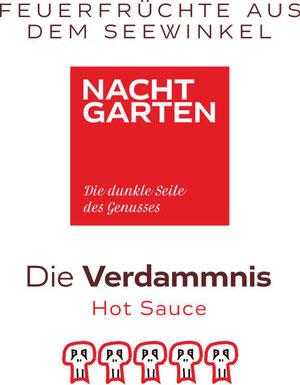 Hot Sauce 'Die Verdammnis' von Lovely, Sweet Chili