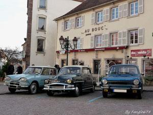 """""""Au Bouc"""",le lieu des réunions du club Simca 67 et Anciennes."""