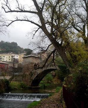 Subiaco, il ponte di san Francesco